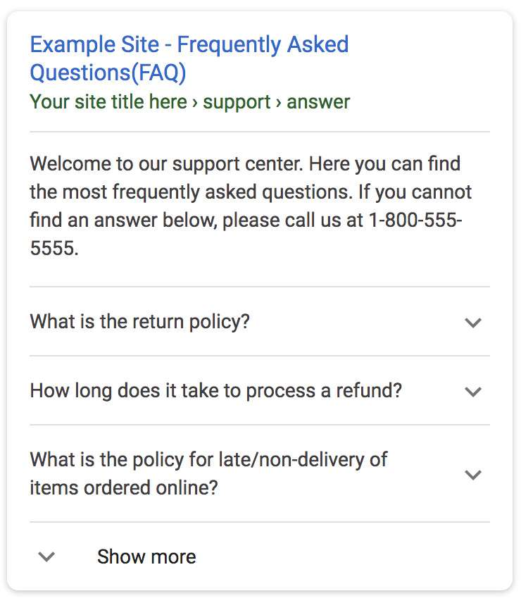 Imagem FAQ Schema